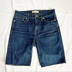 MADEWELL   High rise Jean shorts size 26